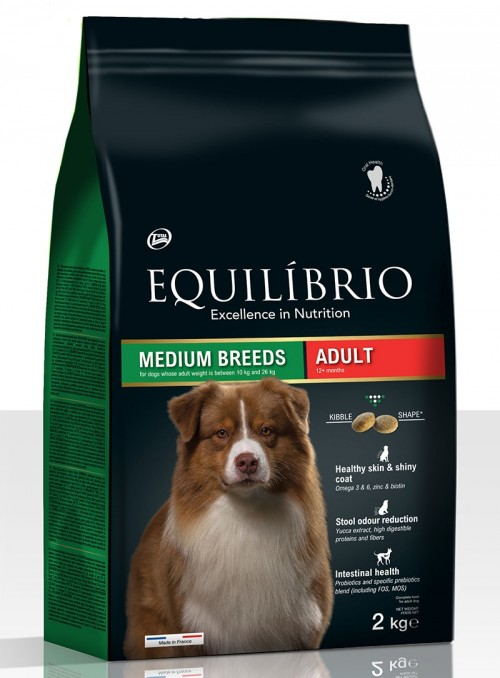 EQUILÍBRIO DOG ADULT MEDIUM...