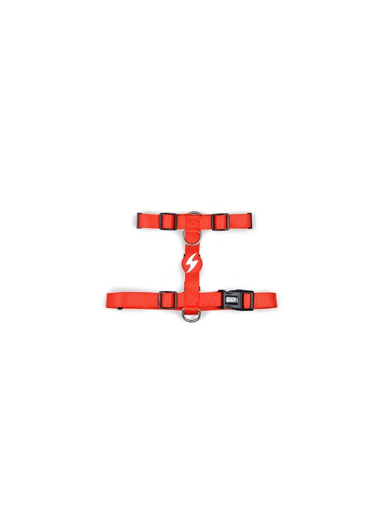 DASHI BACK-HARNESS SOLID RED - L - DBH00028