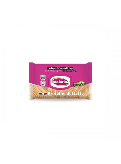 INODORINA TOALHETES SENSITIVE PROTEÍNA DE LEITE - 40 unidades - PET127675