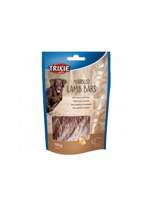 TRIXIE DOG PREMIO MARBLED LAMB BARS - 100gr - TX31603