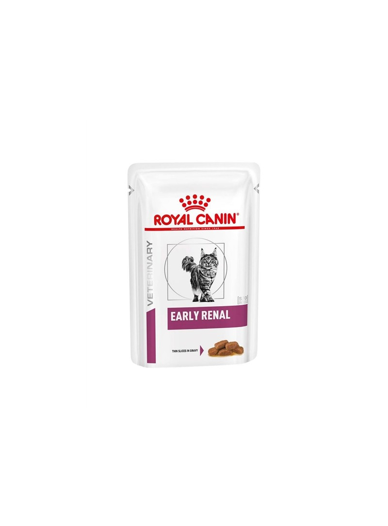 ROYAL CANIN CAT EARLY RENAL SAQUETA - 85gr - RC1243000
