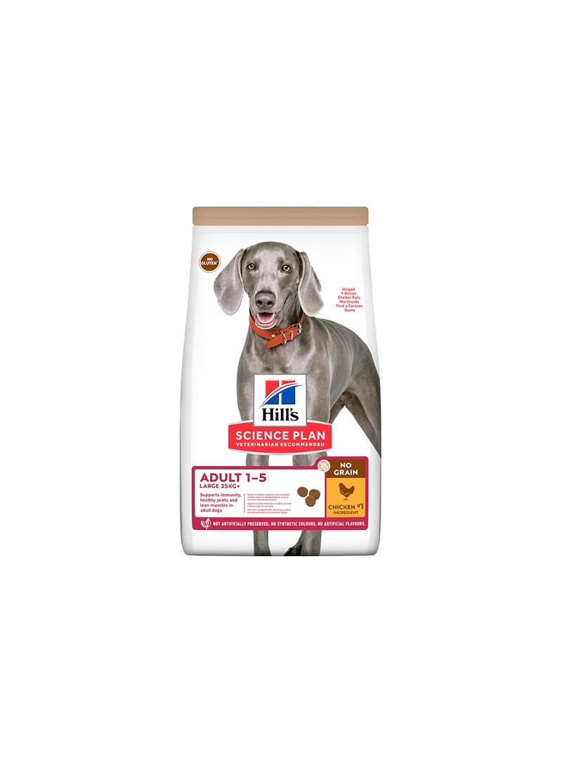 HILLS SCIENCE PLAN NO GRAIN ADULT LARGE BREED CHICKEN - 14kg - SPC605378