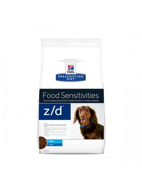 HILLS PRESCRIPTION DIET CANINE Z/D MINI - 1,5 kg - HIZDS1