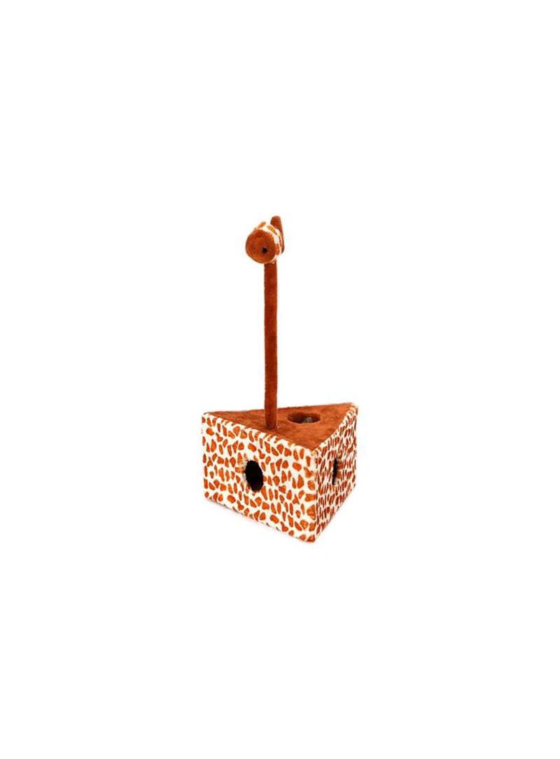 NOBLEZA ARRANHADOR TRIANGULO LEOPARDO - Leopardo - NBZ40575