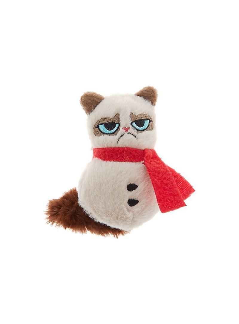 GRUMPY CAT PLUSH SNOWMAN - ESPECIAL NATAL - XMAS00205