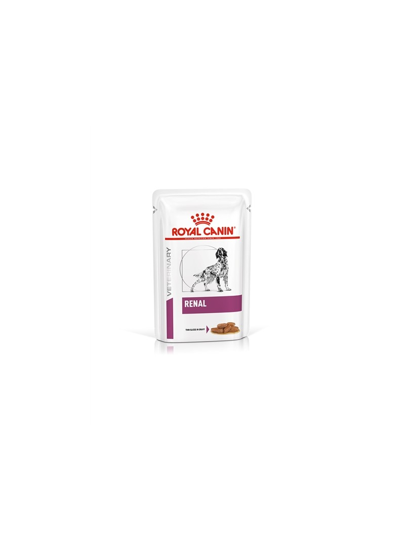 ROYAL CANIN DOG RENAL CIG GRAVY - 12 x 100 gr - R1356001